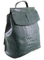 Рюкзак женский кожаный NN 8504-7 Green