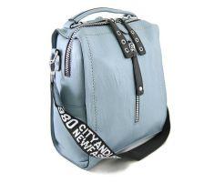 Сумка-рюкзак женская Light Blue_0