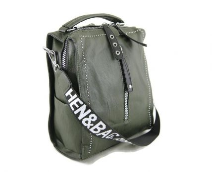 Сумка-рюкзак женская Green