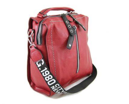 Сумка-рюкзак женская Red