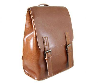 Рюкзак женский кожаный NN 8555 Mheat