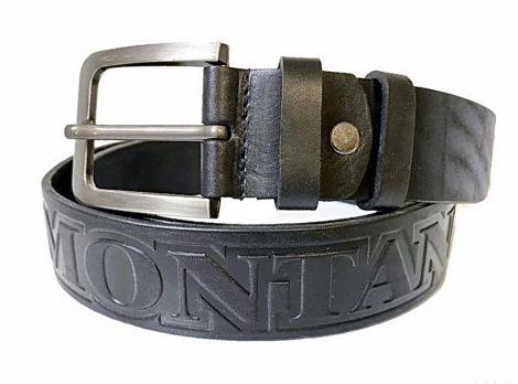 Кожаный ремень Монтана (Montana) black