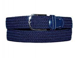 Ремень текстиль-резинка RR-0001 Blue