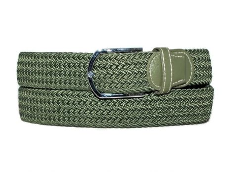 Ремень текстиль-резинка RR-0001 Green