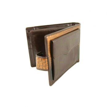 Кожаное портмоне Wanlima 71041170439B1 Coffee