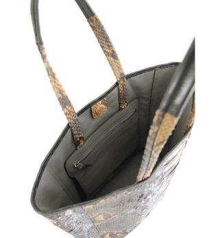 Женская сумка тоут из кожи Питона Python Exclusive