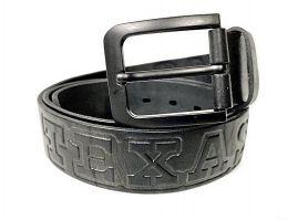 Ремень кожаный Texas (Техас) black
