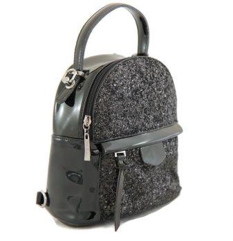 Рюкзак женский чёрный Gilda Tohetti 61223 P-1