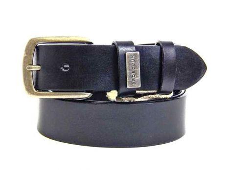 Ремень кожаный брендовый Hugo Boss 875