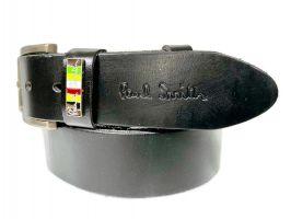 Ремень кожаный брендовый  Paul Smith 877_2