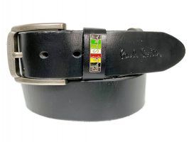 Ремень кожаный брендовый  Paul Smith 877_0