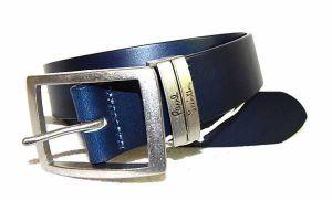 Ремень кожаный Paul Smith Blue