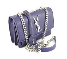Маленькая сумка женская Yves Saint Laurent 1537 blue