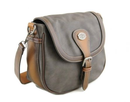 Женская сумка-седло Flame Dance 99979 OA-4116 D.Grey