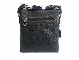 Сумка планшет мужская кожаная AJ 710-3 Black_1