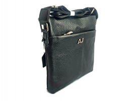 Сумка планшет мужская кожаная AJ 710-3 Black_2