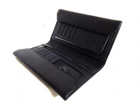 Кожаный клатч Petek 8217
