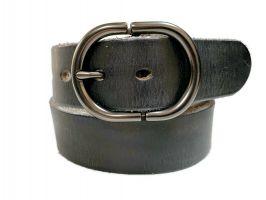 Ремень кожаный джинсовый KP 978