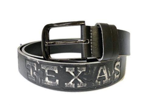 Ремень кожаный Texas (Техас) grey